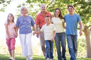 walking-family